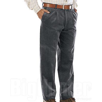 Pantaloni Velluto uomo  Visconti di Modrone Kalibro Grey