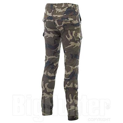 Pantaloni uomo Bull Stretch Camouflage Green