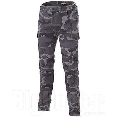 Pantaloni uomo Bull Camouflage Grey