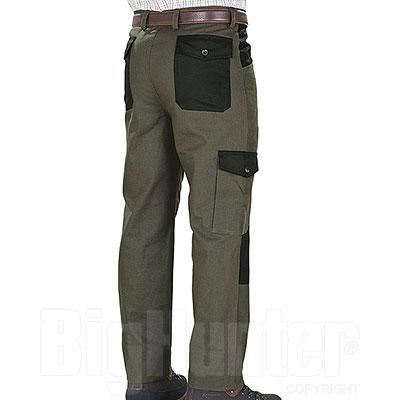 Pantaloni Kalibro Upland Green e Black Canvas e Cordura
