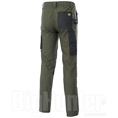 Pantaloni da lavoro Diadora Utility Stretch Green