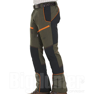 Pantaloni caccia Kalibro Tecno Stretch Green Orange Black