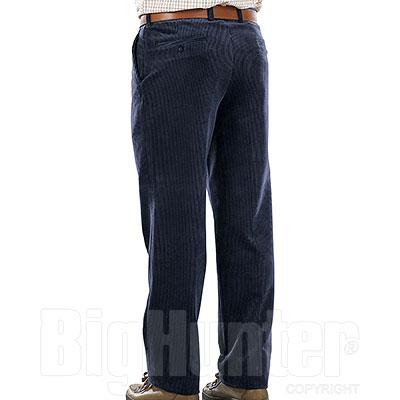 Pantaloni Velluto uomo  Visconti di Modrone Kalibro Blu