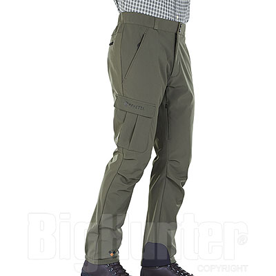 Pantaloni Beretta Advance Softshell Green