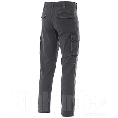 Pantaloni Cargo uomo Fashion Stretch Grey