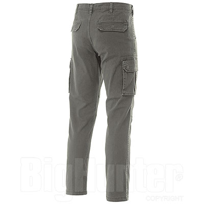 Pantaloni Cargo uomo Fashion Stretch Military Green