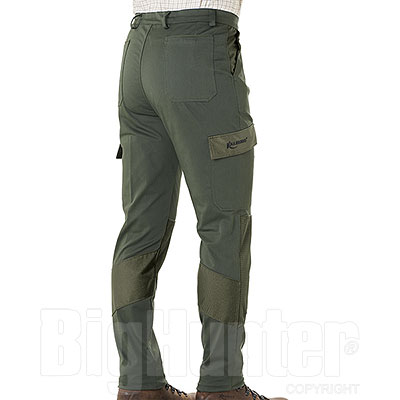 Pantaloni Kalibro Hunter Cotton Stretch Green Cordura Green