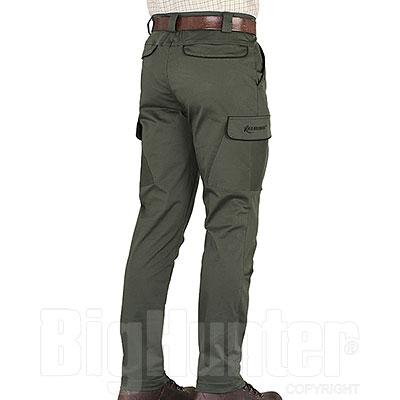 Pantaloni Kalibro Classic Cotton Stretch Profiles Black