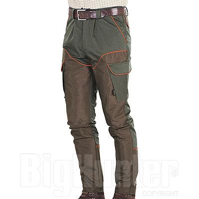 Pantaloni Kalibro Beccaccia Cotton Stretch Cordura Brown