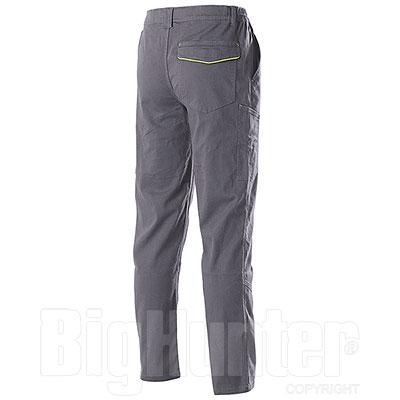 Pantaloni Zurig Stretch Multipocket Grey