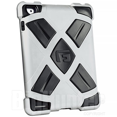 Cover G-FORM Antiurto Extreme Silver per iPad 2 e New iPad