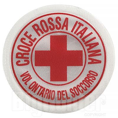 Distintivo Croce Rossa Italiana Rifrangente