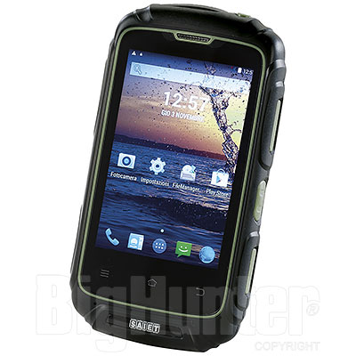 Smartphone Forte ST-S351 Nero/Verde Saiet