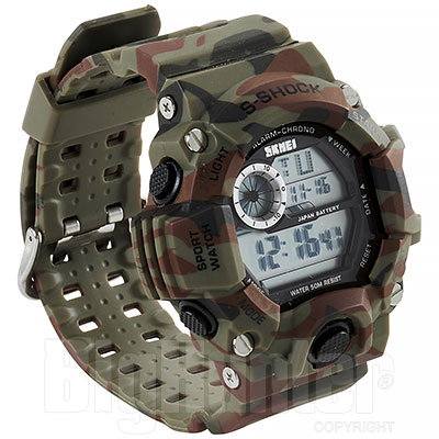 Orologio Military Shock Camouflage