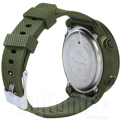 Orologio Army Green and Black Dual Time