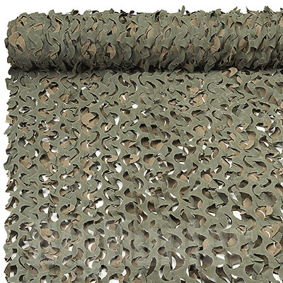 Telo Traforato Camo System Woodland