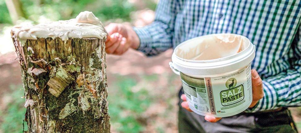 Attrattivo per Cervi e Caprioli Salzpaste Aroma Affumicato