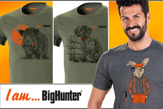 t-shirt I'am BigHunter