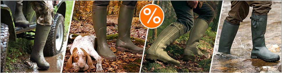 buy online e83c5 7e765 Stivali gomma ideali per la caccia e non solo su BigHunter.net